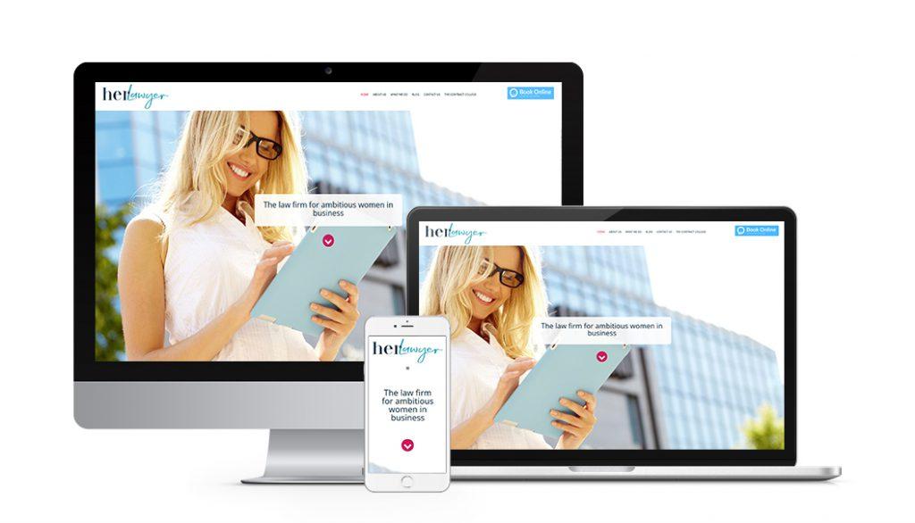 award winning best law firm website