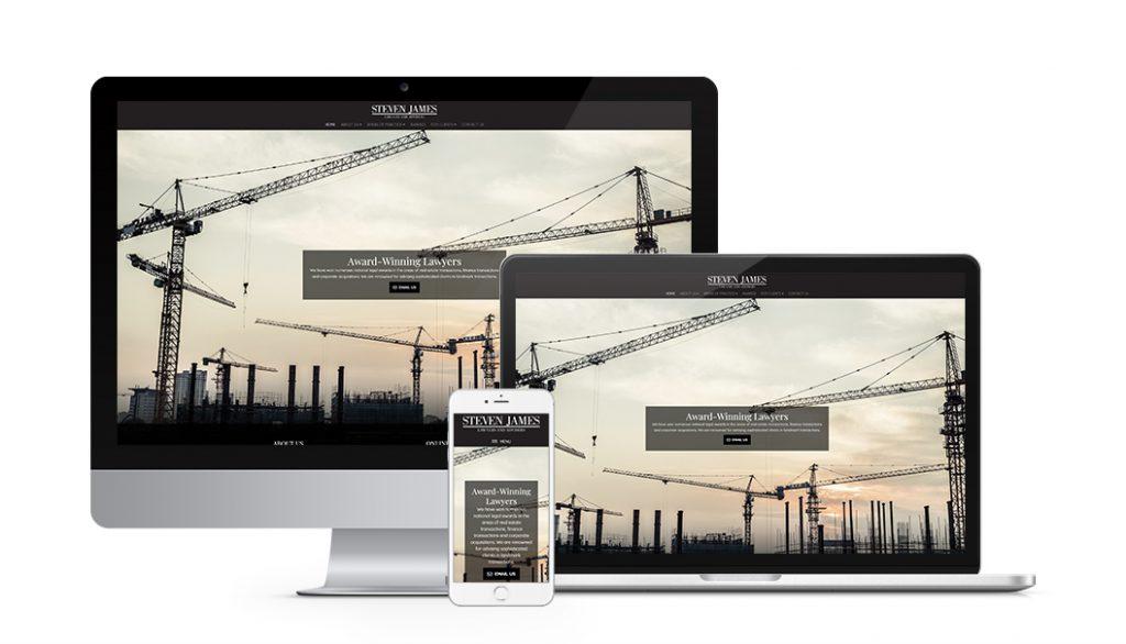 steven james lawyers website selected best legal website